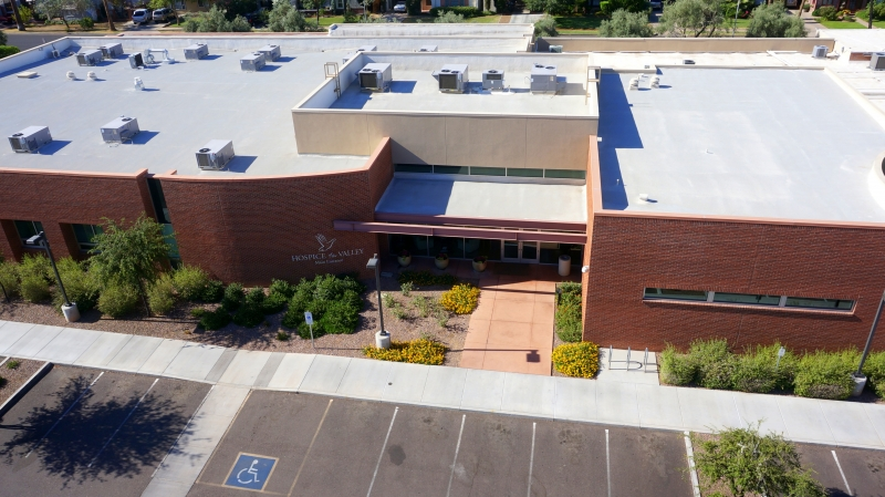 Hospice Of The Valley Foam Experts Roofing Systems