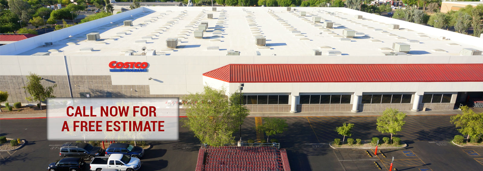 Phoenix Costco Center Foam Roofing