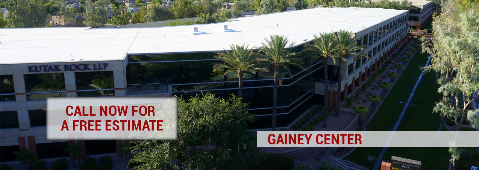 Gainey Center Foam Roofing