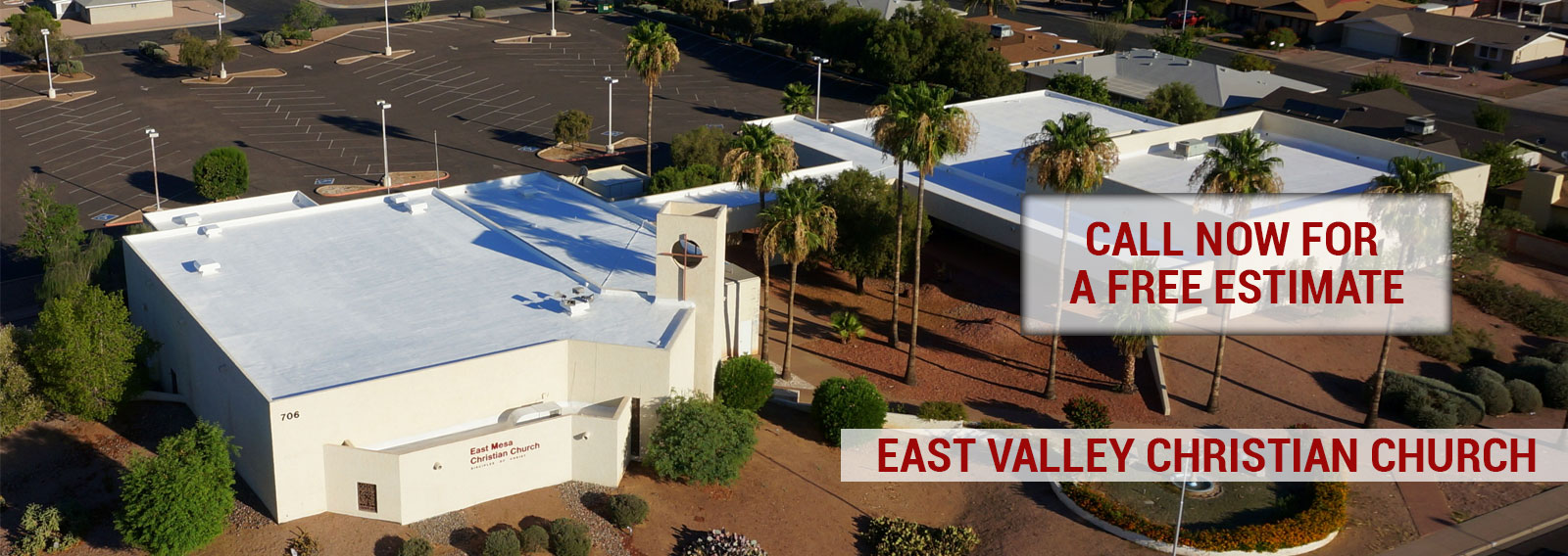 East Mesa Christian Church Foam Roofing