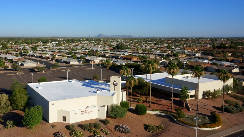 East Mesa Christian Church Foam Experts Roofing Systems